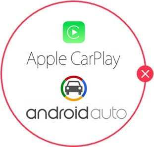 Android Auto and Apple CarPlay are not standard on the Toyota Highlander