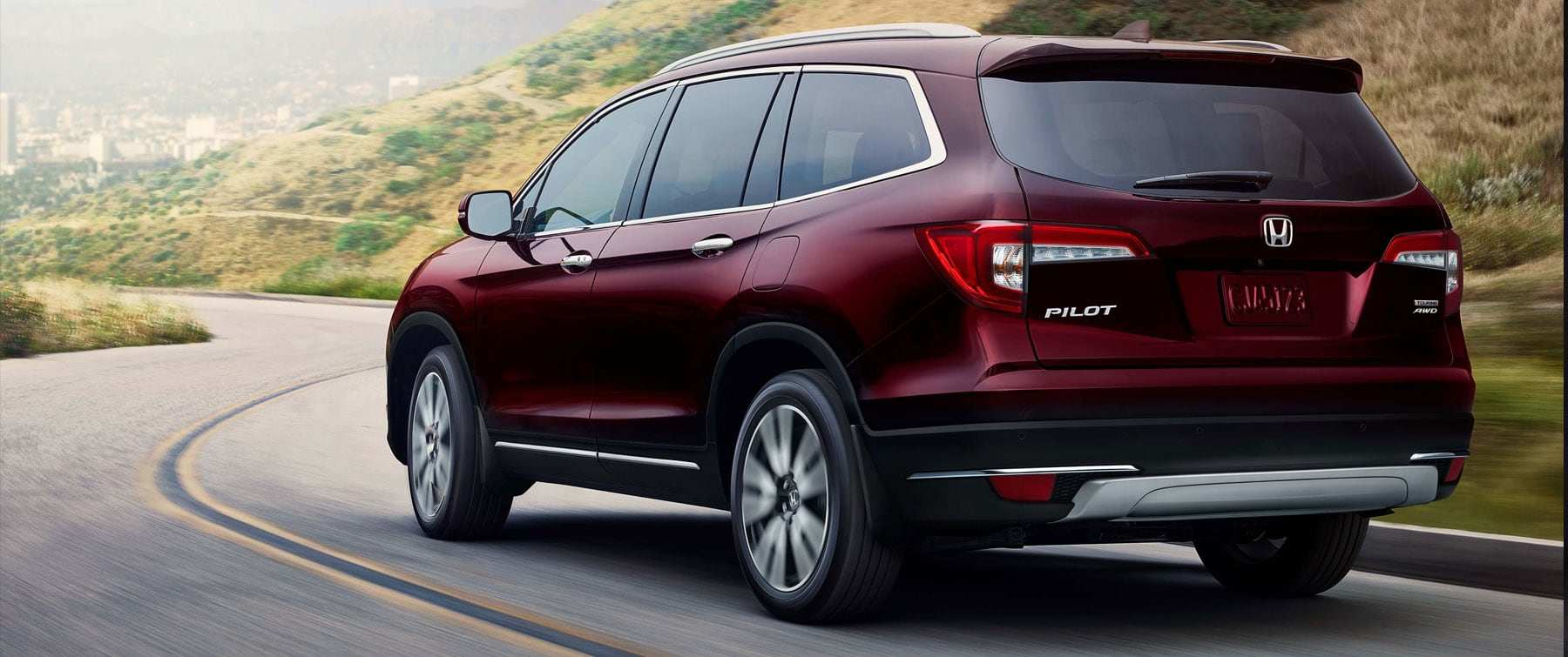 Driver-assistive technologies on the new Honda Pilot