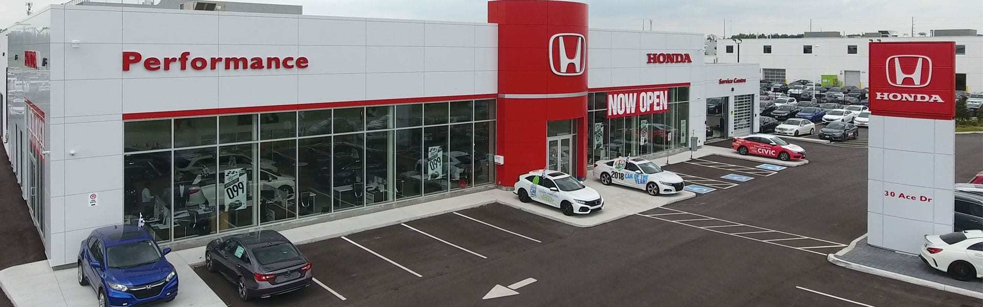 Performance Honda Dealership Photo