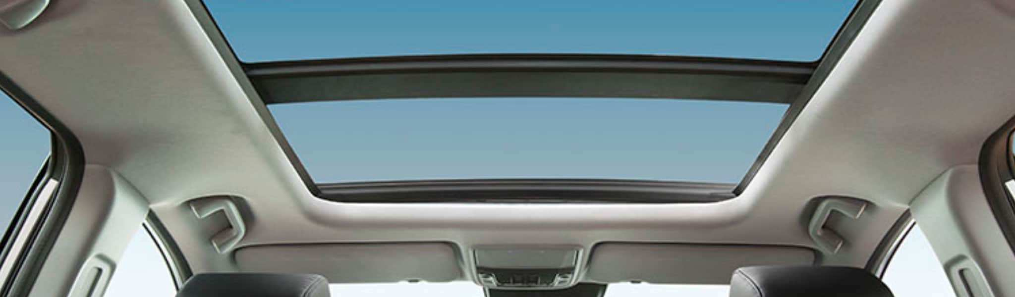 One-touch panoramic moonroof on the Honda CR-V